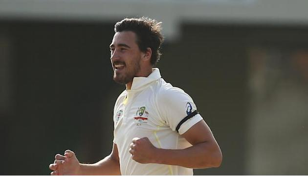 Mitchell Starc unconvinced by pink cricket ball after Day/Night Test announced