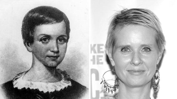 FILE PHOTO:  Cynthia Nixon To Play Emily Dickinson In Biopic Role