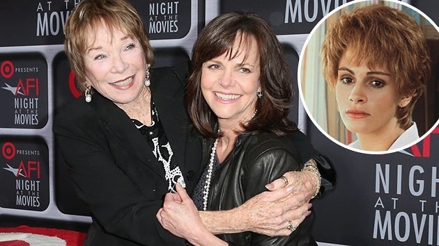 Shirley MacLaine, left, and Sally Field