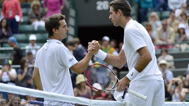 Wimbledon - Del Potro offers hope for men's chasing pack