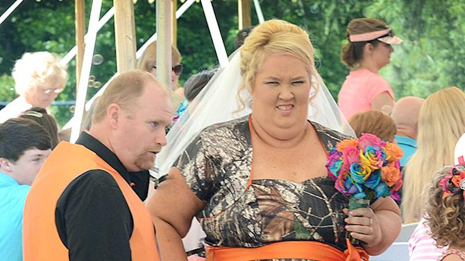 June 'Mama June' Shannon gets married to Mike 'Sugar Bear' Thompson in Gerogia