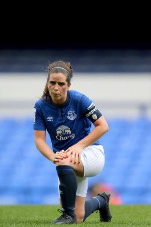 Soccer - Women's FA Cup - Semi Final - Everton Ladies v Notts County Ladies - Goodison Park