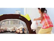 GoCrib inflatable, portable crib/playpen