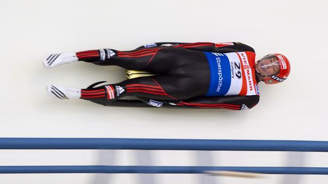 Luge - Moller kickstarts campaign with Konigssee victory