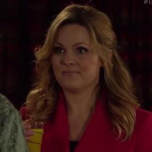 How's Adam?! EastEnders' actress Jo Joyner fluffs her lines during live episode!
