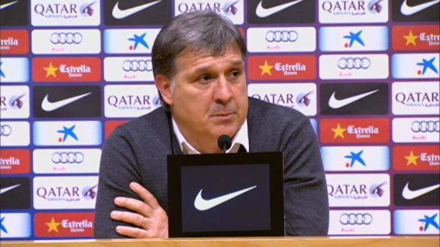 Liga - Martino: The title is ours for the taking - and we won't slip up again