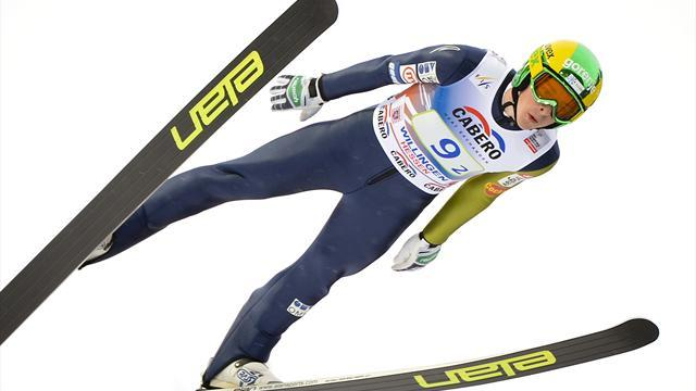 Ski Jumping - Hvala collects maiden victory in Klingenthal