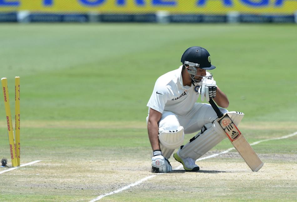 South Africa v India - 1st Test Day 4