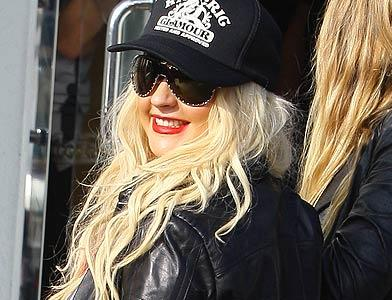 pst Christina Aguilera Shopping