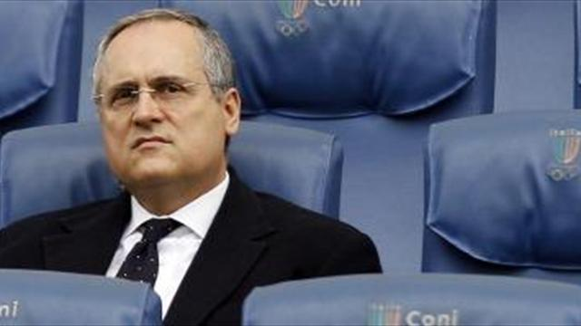 Serie A - Lotito: Punish the people, not the clubs