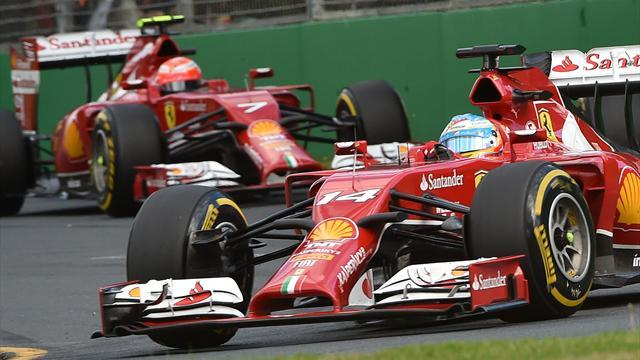 Formula 1 - Ferrari had software glitch in Australia