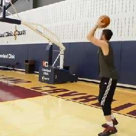 Basketball Shooting Drill With Kevin Love: 5 Spots, 5 Shots