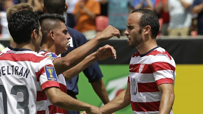 Gold Cup Cuba United States Soccer