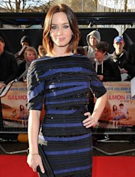 Stripes, sequins and a back-to-front jacket – what do you think of Emily Blunt's premiere look?