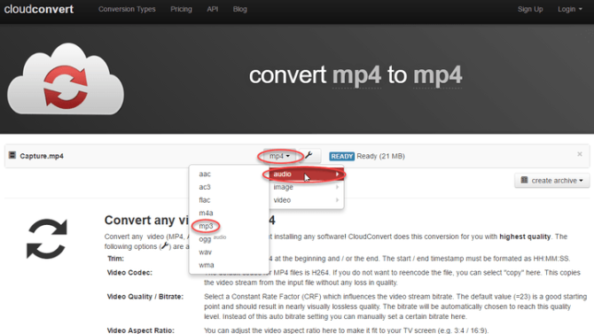Here's how to convert your MP4 files to old-school MP3s