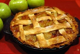 Nothing shouts 'America' louder than apple pie.