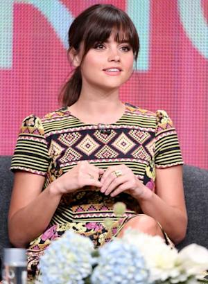 Jenna-Louise Coleman speaks onstage at the 'Doctor Who ' panel discussion during the BBC America portion of the 2013 Summer Television Critics Association tour - Day 2 at the Beverly Hilton Hotel on July 25, 2013 -- Getty Images