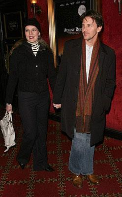 Andrew McCarthy and guest at the New York City premiere of Warner Bros. Pictures' August Rush