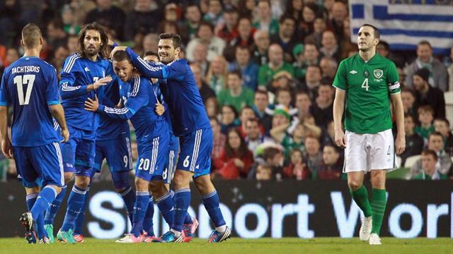 World Football - Republic of Ireland beaten at home by Greece