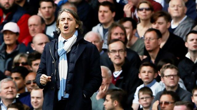 Premier League - Mancini: United deserve title, but they are not better