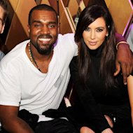 Kanye West and Kim Kardarshian