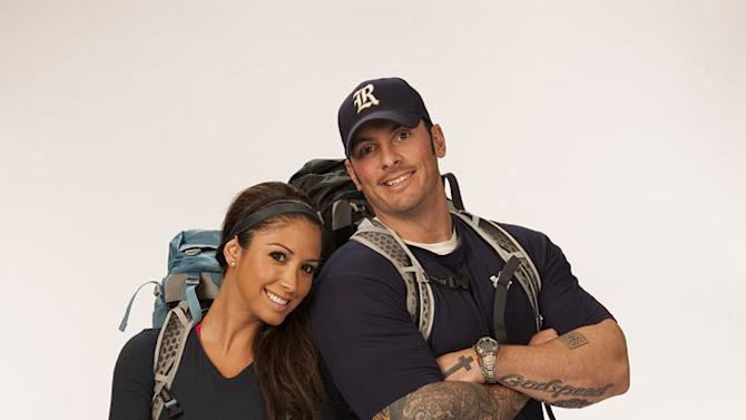 """Dating Divorcees Vanessa Macias and Ralph Kelley compete in the 20th season of """"The Amazing Race."""""""