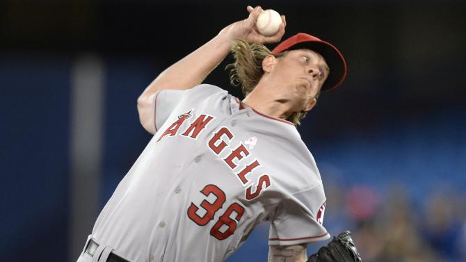 Conger has 5 RBIs as Angels beat Blue Jays