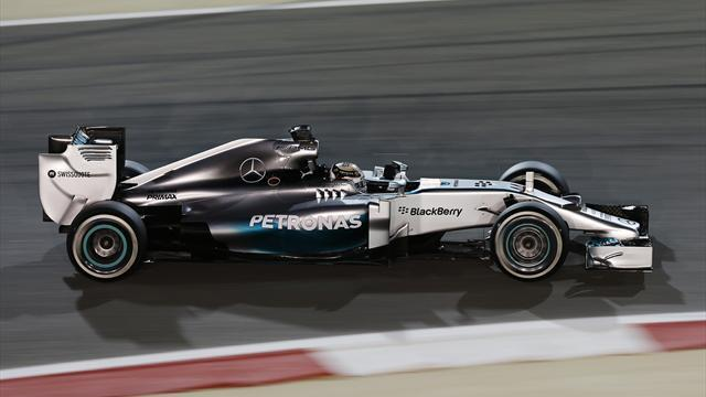 Formula 1 - Hamilton stays ahead in second practice