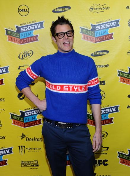 AUSTIN, TX - MARCH 10: Actor Johnny Knoxville poses for photos during the premiere of 'Nature Calls' in the Green Room of Paramount Theater at the 2012 SXSW Music, Film   Interactive Festival on March 10, 2012 in Austin, Texas.