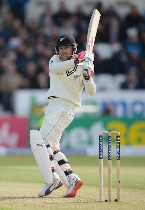CRIC: New Zealand's Brendon McCullum in action