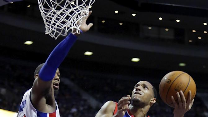 Pistons rout short-handed 76ers 113-96