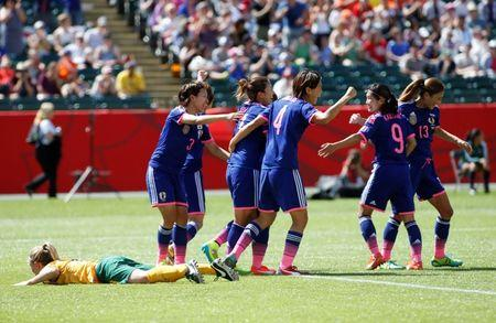 Soccer: Women's World Cup-Australia at Japan