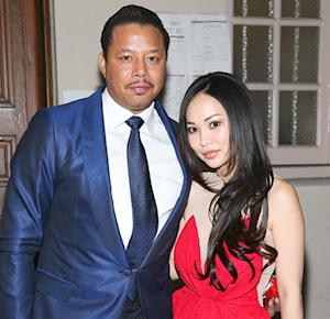 Photo of Terrence Howard & his  Daughter  Qirin Love Howard
