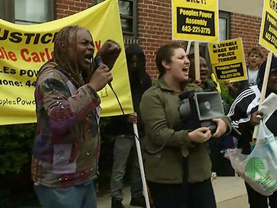 Family, friends in Baltimore mourn death of arrested man