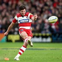 Freddie Burns kicked three penalties and scored two conversions for Gloucester