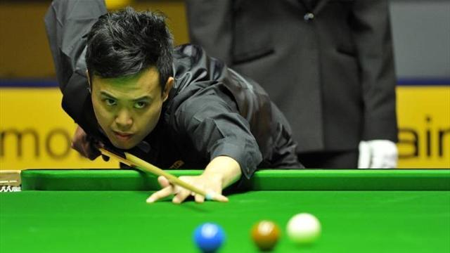 Snooker - Fu sees off Stevens to secure Trump meeting