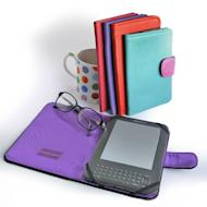 1. Personalized Leather Kindle Cover by Little Red Designs