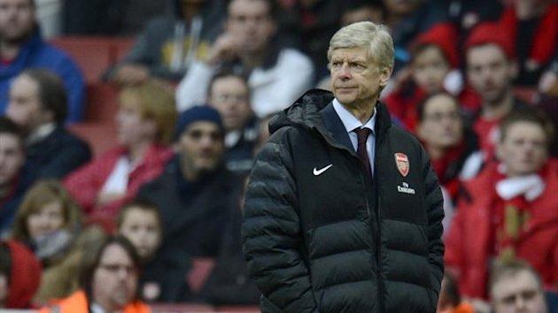 Arsenal manager Arsene Wenger during his team's FA Cup defeat to Blackburn (Reuters)