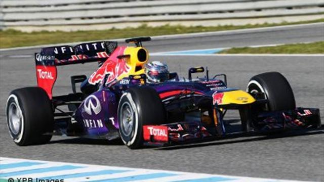 Formula 1 - Vettel puts Red Bull on top at Jerez