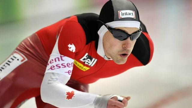 Speed Skating - Morrison ends lengthy gold drought