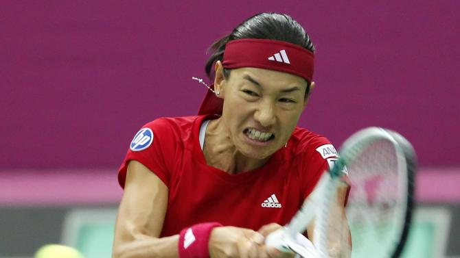 Russia v Japan - Fed Cup World Group - Day One