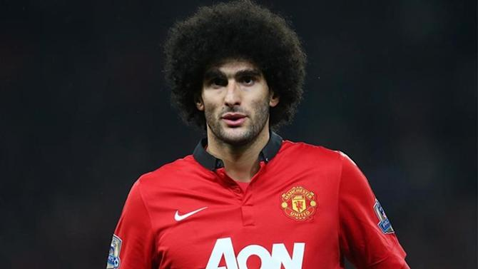Premier League - Louis Van Gaal: Fellaini did not spit at Aguero