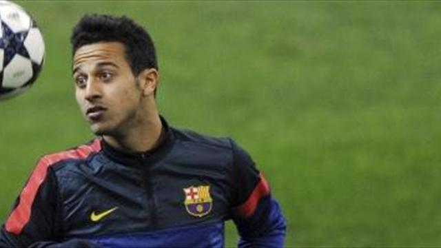 Liga - Bayern, City in for Thiago
