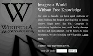 Using Current Events For Marketing Success image SOPA Wikipedia 300x183