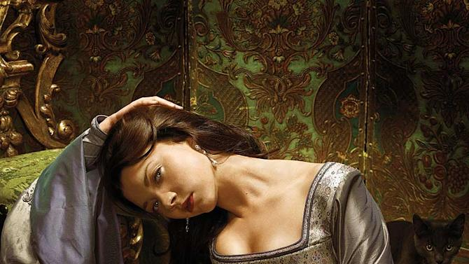 Natalie Dormer stars as Anne Boleyn in The Tudors.