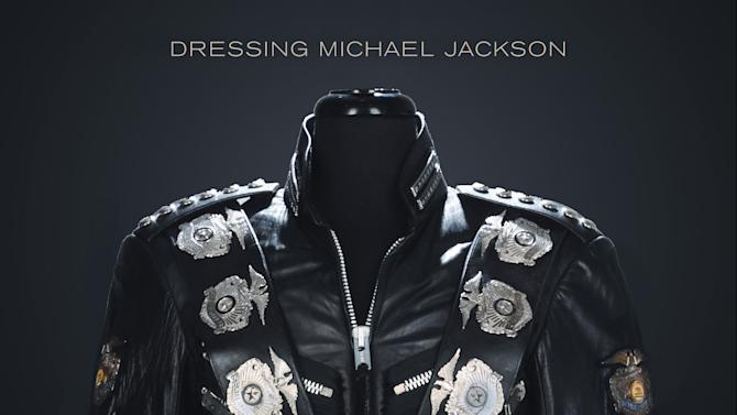 "In this publicity photo provided by Pop Regalia LLC, the cover of ""The King of Style: Dressing Michael Jackson,"" by Michael Bush, is shown. The book will be released on Oct. 30, 2012. (AP Photo/Courtesy Pop Regalia LLC)"