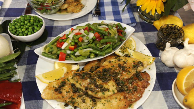 Trisha Yearwood's Chicken Piccata