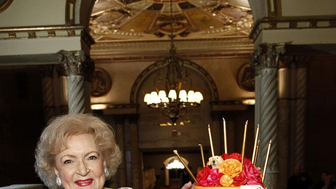 "Betty White on ""Betty White's 90th Birthday: A Tribute to America's Golden Girl"""