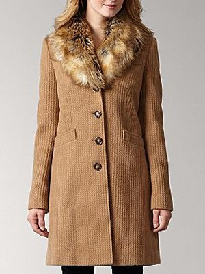 Cable Wool Coat