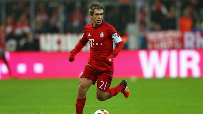 Lahm praises Bayern for adapting to injuries